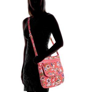Vera Bradley Iconic Mailbag Medium Crossbody Purse